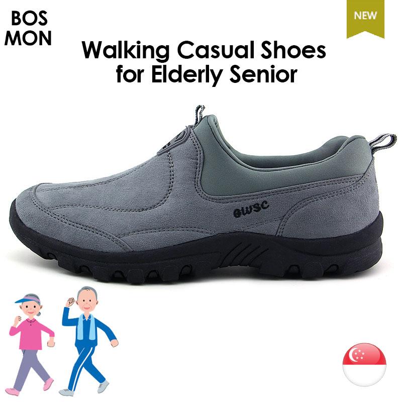 9e652edf0bf0 Walking Casual Shoes for Elderly Senior - BOSMON - Specialise in ...